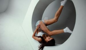 Lovekaty Long Legs Erotic Circle With Girl Legs Up by erotichdworld89