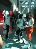 Portal Cosplay 3 AX 2011 by MidnightLiger0