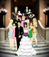 A Total Drama Wedding by MoonLitRomance