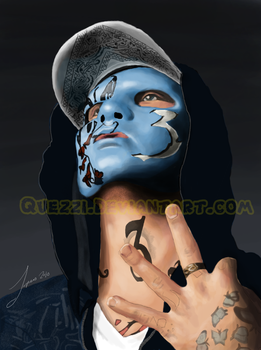 Johnny 3 Tears by Quezzi
