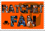 Ratchet fan-made stamp by Playstation-Jedi