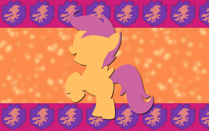 Swift Scootaloo WP by AliceHumanSacrifice0