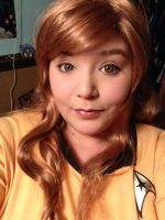 Rule 63 Captain Kirk II by Labyrinthinwyrm