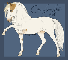 Calipso Import Horse #15 by BH-Stables