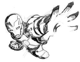 DSC Iron Man by stalk