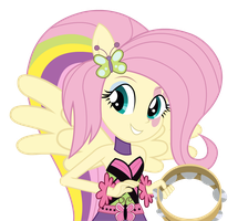 Fluttershy - Equestria Girl 2 Rainbow Rocks by negasun