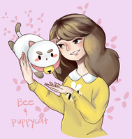 Bee and Puppycat by bean-logic
