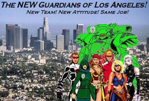 Guardians of Los Angeles - Promotional 1 by tintallin
