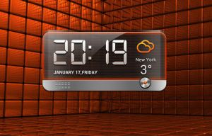 Blackquartz Clock for xwidget by jimking