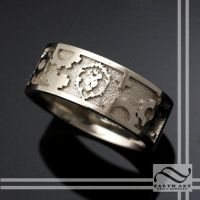 Wow Alliance Mens Wedding Band by mooredesign13