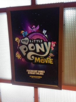 My Little Pony The Movie 2017 coming soon poster by dth1971