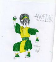 Toph by Lady-Icefire