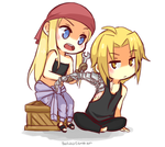Winry And Ed by bookaholic5