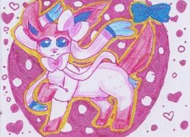 Ninfia / Sylveon ACEO Card by sawarineko