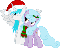 Vector Cloud Nine and Frost fire - Merry Christmas by KyssS90