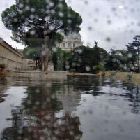 A Rainy Day at St. Peter's by EraserRain27