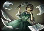 [FYP-CMD] Emily Bronte by JemiDove
