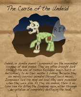 Curious Conditions: The Curse of the Zompony by The-Clockwork-Crow