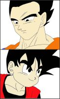 Father Vs. Son by dbzlover135