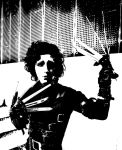 Edward Scissorhands: An uncommonly gentle man by BasiliskRules