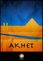 Akhet - Tempus Poster by Lycanstrife