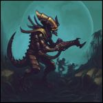 Tyranid Warrior by OEVRLORD