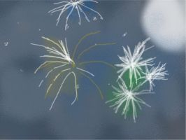 Fire Works For Law  *hugs by jasongreen