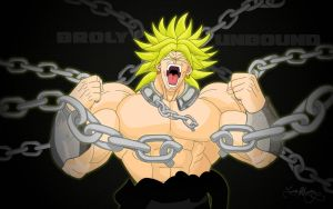 Broly Unbound Wallpaper by Spartan1028