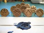 Craftalong: The completed rings by Henry-Crun