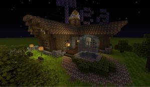 Minecraft Teahouse by xjp6174pjx