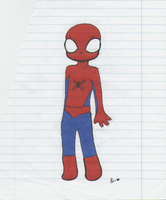 Cutie SpiderMan by MoreThanAConqueror