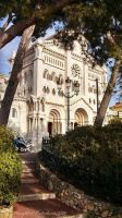 Cathedrale Notre-Dame-Immaculee (Monaco) by Gardynn7