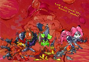 Bucky O'Hare and the Toad Wars by BrendanCorris
