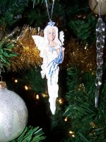 Christmas Ornament Angel by seiyastock