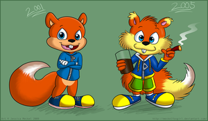 Conker by MeckelFoxStudio