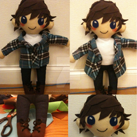 Supernatural - Sam Winchester Plushie by ChibiVillage