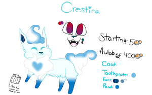 Crestina ToothPaste Auction *CLOSED* by GIazia-Cinnabon