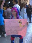Mi segundo cosplay 2015- twilight sparkle eg by TATYpuccasXD