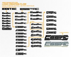ESSTAC Logo Creation Flowsheet by djmonkeyboy