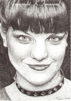 Pauley Perrette by Karentownsend