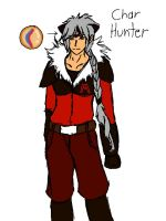 Char Hunter new team Magma uniform by blackzero04
