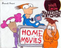 Home Movies Adult Swim by Enlightenup23