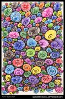 Shell Mania by Quaddles-Roost