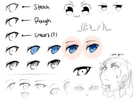 Step by Step :: Eyes by Yuzas