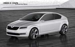 Skoda VisionD Coupe by pilgrimx
