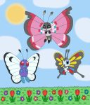 Butterfly Pokémon by MCsaurus
