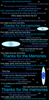 +_Thanks for the Memories_+ by Scartato