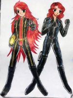 Polarity and Black Widow by e31