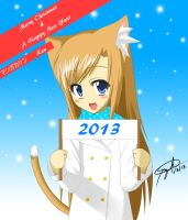 Merry Christmas and a Happy New Year by Sazuke453