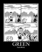 Green says To Hell with cut by daveshan